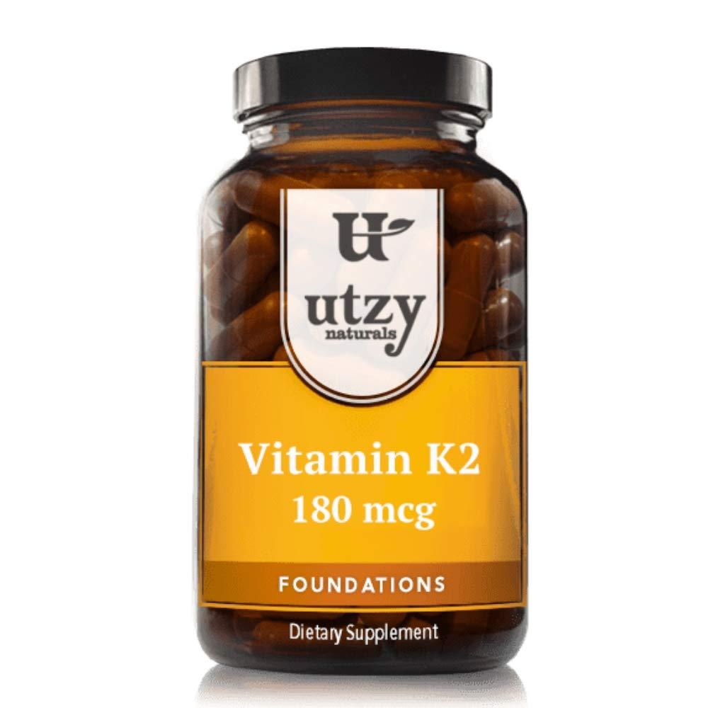 Vitamin K2 - Made with MenaQ7 Form of K2-180mcg