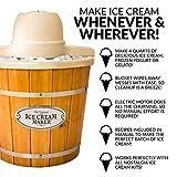 Nostalgia WICM4L Electric Ice Cream Maker Makes
