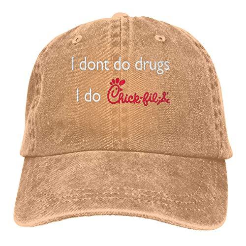 1f70a95a I Dont Do Drugs I Do Chick Fil A Pattern Cowboy Style Personalized Snapback  Hats