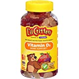 L'il Critters Vitamin D3 Bone Support Natural Fruit -- 190 Gummy Bears