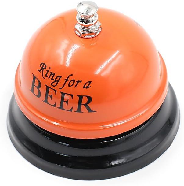 Fashion Ringing Service Bell for Shop Counter Butler Reception Waiter Restaurant Bar Hotel-Black
