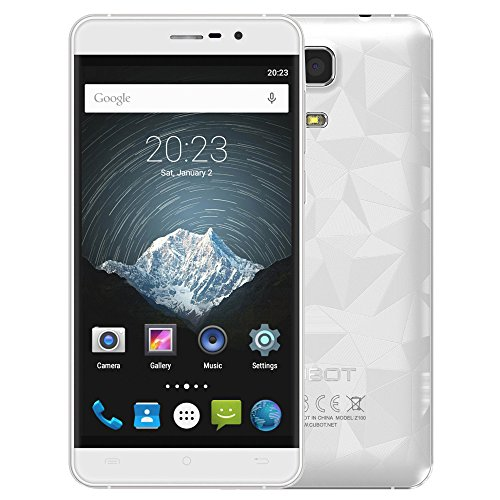 CUBOT-Z100-PRO-4G-LTE-Smartphone-50inch-IPS-Pantalla-1280720pixels-Android-51-MTK6735-Quad-Core-10GHz-3GB-16GB-50MP130MP-Doble-Cmara-Doble-Tarjeta-SIM