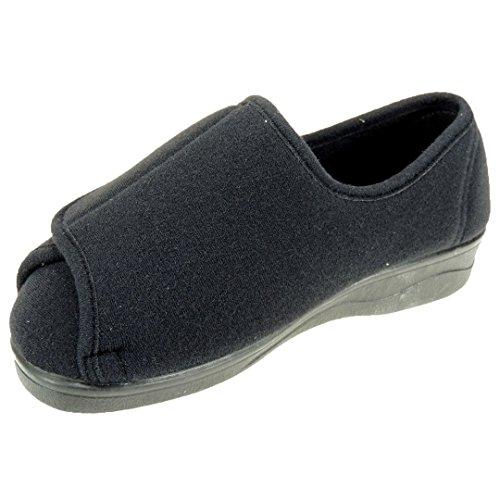 CELIA Velcro PATRICIA Especial NEGRO Zapatillas INVIERNO Ancho RUIZ Sanitized Modelo qqwAIg