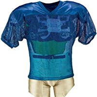 339f134b1 Adams Youth Porthole Mesh Practice Football Jersey with Dazzle Shoulders
