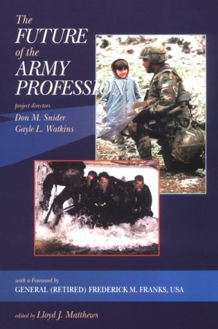The Future of the Army Profession