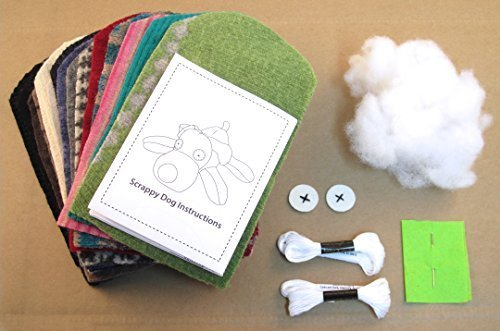 (Cate & Levi - Stuffed Animal Making Kit - Unique Child Gift - Machine Washable)