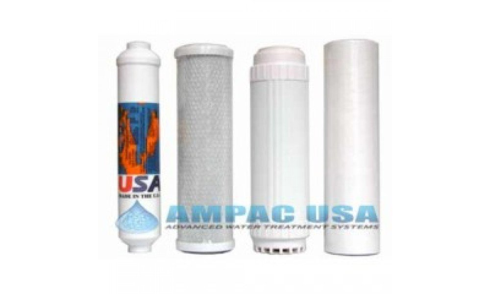 AP5K - Replacement Filter Kit for 5 Stage RO System by Ampac USA