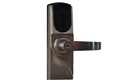 METechs - Keyless Electronic RFID Card Reader Door Lock MID300 Right Hand  sc 1 st  Amazon.com & Amazon.com : METechs - Keyless Electronic RFID Card Reader Door Lock ...