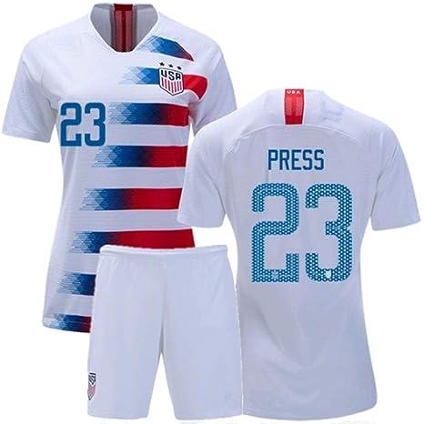 purchase cheap 2ec19 738a0 Amazon.com : ZZXYSY Christen Press #23 USA National Team ...