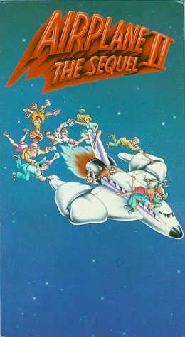 Airplane II: The Sequel Amazoncom Airplane 2 Sequel VHS Robert Hays Julie Hagerty