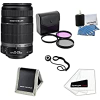 Canon EF-S 55-250mm f/4-5.6 IS II Lens with Ultimate Professional Camera Accessory Bundle