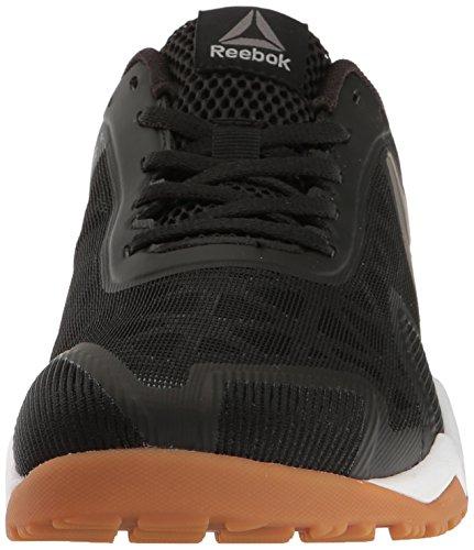 Reebok Mens Ros Workout Tr 2.0 Cross-trainer Schoen Zwart / Rbk Rubber Gom / Whit
