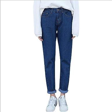 Vintage Boyfriend Jeans for Women Waist Loose Trousers Jeans ...