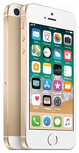 Apple iPhone SE 32GB Unlocked Smartphone, GSM Only (at&T/T-Mobile), Gold (Renewed) (5 32gb Att Iphone)