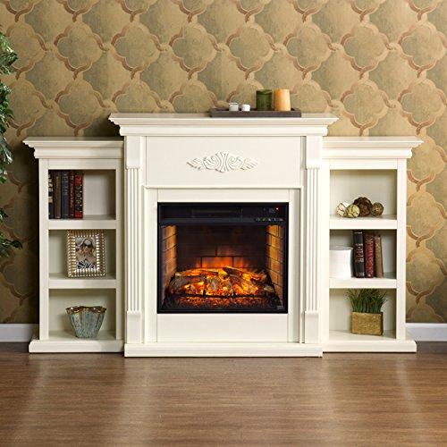 Southern Enterprises, Inc. AMZ4458IF Infrared Electric Fireplace by Southern Enterprises, Inc. (Image #4)