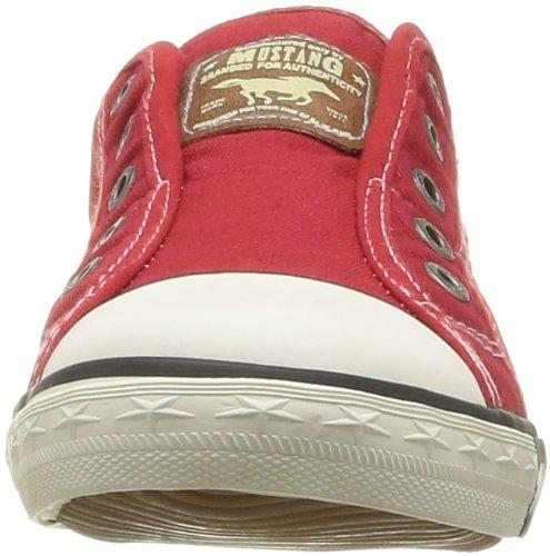 Mustang - Zapatillas de estar por casa para mujer Rojo (Rot (rot 5))