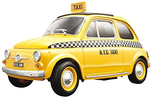 Bburago Wholesale Fiat 500 Taxi Cab 1/18 Diecast Model Car