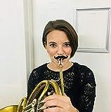 Brasstache Flute-Stache - Clip-on Mustache for
