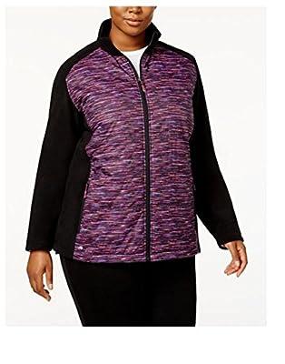 Ideology Full Zip Space Dye Fleece Sleeves Athletic Jacket