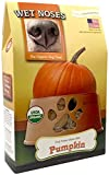 Wet Noses All Natural Dog Treats, Made in USA, 100% USDA Certified Organic, Non-GMO Project Verified, Pumpkin, 14 oz Box