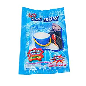 Docooler Artificial Instant Snow Fluffy Snowflake Super Absorbant Man-Made DIY Snow Powder Magic Prop Christmas Party Decorations DIY Gift