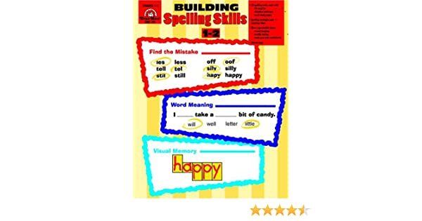 Workbook contraction worksheets for grade 3 : Building Spelling Skills : Grades 1-2: Moore: 0023472007254 ...