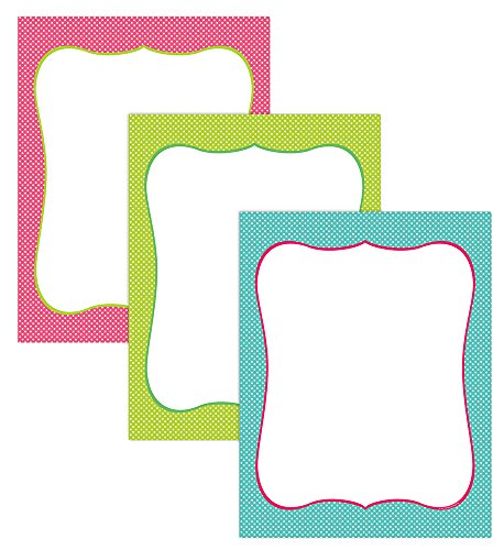 "Great Papers! Spring Dots Assortment Letterhead, 8.5""x11"", 60 Count (2013065)"