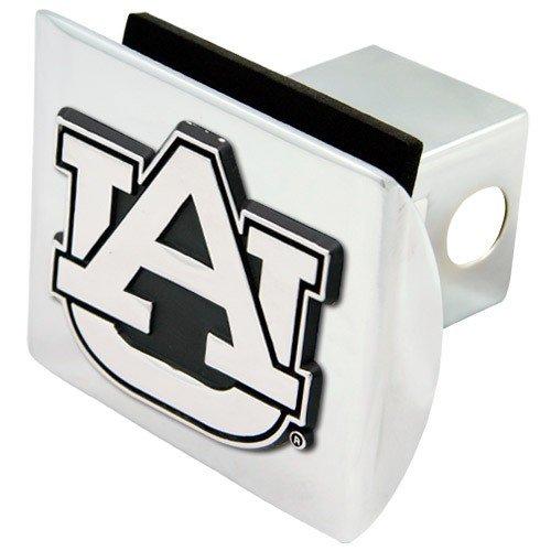 Football Fanatics NCAA Auburn Tigers Chrome Trailer Hitch Cover ()