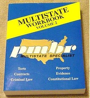 Amazon com: PMBR MULTISTATE BAR EXAM REVIEW WORKBOOKS 2006 EDITION