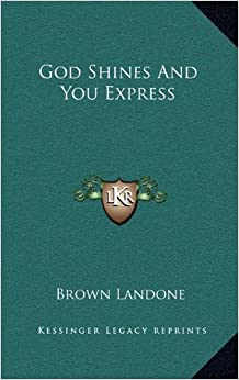 Book God Shines and You Express