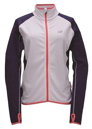 2117 of Sweden Jacket Eco Tyfors LS, Chaqueta Polar Mujer Color Blanco/Marino Talla 38: Amazon.es: Deportes y aire libre
