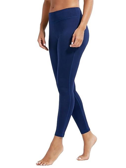 dh Garment Mallas Mujer Fitness Leggins de Cintura Alta con Bolsillos: Amazon.es: Ropa y accesorios