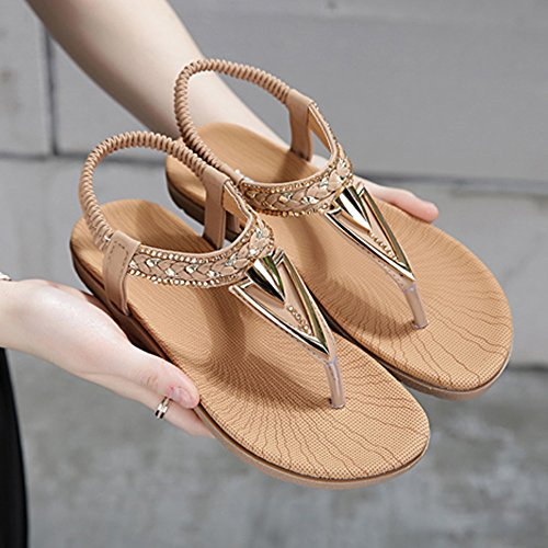 Slippers MEIDUO, Women's Sandals Spring Summer PU Casual Flat Heel With 2 Colors Comfortable 2