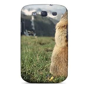 Tpu JamesPTaylor Shockproof Scratcheproof Marmot Hard Case Cover For Galaxy S3