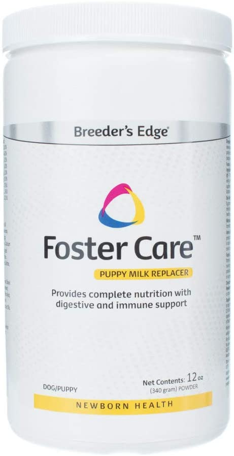 Revival Animal Health Breeder's Edge Foster Care Canine- Powdered Milk Replacer- for Puppies & Dogs- 12oz