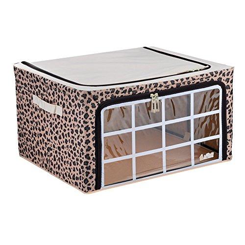 Foldable Storage Kingtoys Leopard Clothes