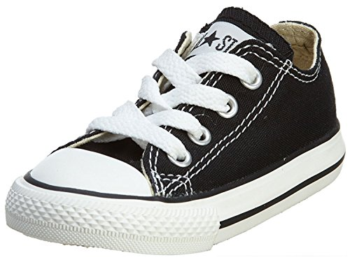 Converse Chuck Taylor All Star OX Toddler's Shoes Black 7j235 (10 M US) (All Star Black Ox Shoes)