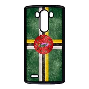 Dominica Flag LG G3 Cell Phone Case Black F9818617
