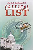 Critical List, Marshall Goldberg, 0741401517