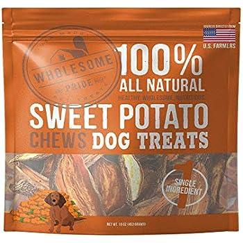 Amazon.com : Wholesome Pride Pet Treats New Sweet Potato