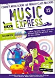img - for Music Express: Age 8-9 (Book + 3CDs + DVD-ROM): Complete Music Scheme for Primary Class Teachers book / textbook / text book