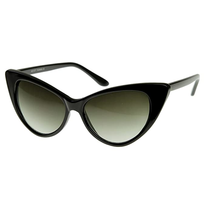 Amazon.com: Lentes de sol vintage estilo cat-eye de zeroUV ...