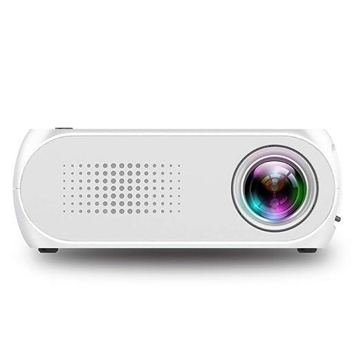 SZP Mini proyector, proyector portátil, HD 1080p, proyección de ...