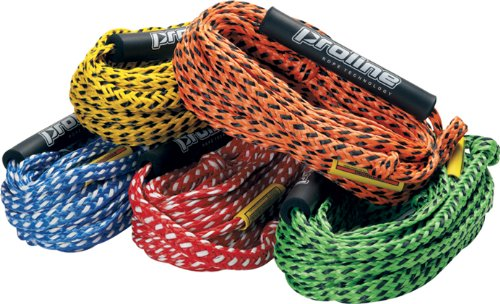 Pro Line Tow Rope - Proline Heavy Duty Tube Tow Rope- 5/8-Inch- Yellow