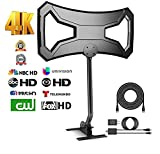 Best Copper Cable For Digital HDTVs - BigSK Outdoor 180Miles Amplified TV Antenna - Upgraded Review