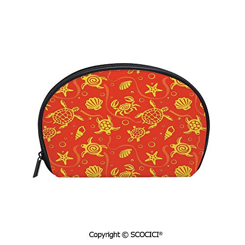 SCOCICI Printed Small Size Storage Makeup Bag Swimming