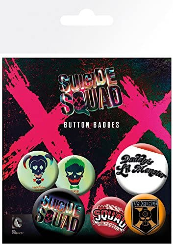 GB Eye LTD, Suicide Squad, Lil Monster, Pack de Chapas: Amazon.es ...