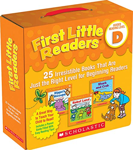First Little Readers Parent Pack: Guided Reading Level D: 25 Irresistible Books That Are Just the Right Level for Beginning Readers