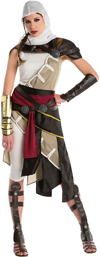 Amazon Com Adult Assassin S Creed Aya Costume Clothing