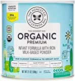 The Honest Company Organic Premium Infant Formula with Dha, Premium, 21 Ounce